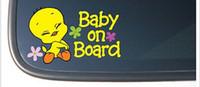 baby tweety - Tweety Bird quot BABY ON BOARD quot Vinyl Car Decal Sticker Decal vinyl car i pad laptop window wall funny sticker