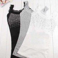 "Cheap Z101""Girl Women's Rhinestone Sequin Lace Tank Top Sling Camisole Cami Shirt Vest Slim"
