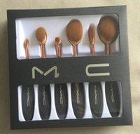 bb cream free shipping - HOT MA C Makeup Brush Cosmetic Foundation BB Cream Powder Blush pieces Makeup Tools