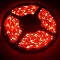 Wholesale SMD LED light strip meters LEDs sideview waterproof red blue white and yellow color