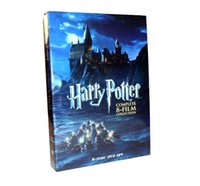 Wholesale Harry potter FILM dics The Complete Collection Factory Price DVD Boxset New free DHL shipping