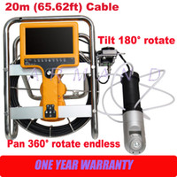Wholesale Home and Industrial Chimney Inspection Camera Systems degree pan tilt cameras HD inch Monitor stove inspection
