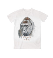 sublimation printing - 2 Styles Real USA Size custom made harambe D Sublimation print T Shirt Plus size