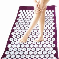 Wholesale Massage Relaxation Health Care Massager cushion Acupressure Mat Relieve Stress Pain Acupuncture Yoga Mat cm