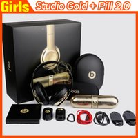 Cheap Beats Studio Wireless Gold and Pill 2.0 Portable Bluetooth Speaker in stock fast shipping from girls headphones