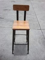 antique dining coffee table - American country to do the old retro bar stool antique dining table dinette coffee chairs