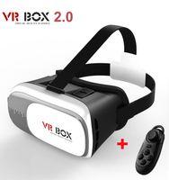 Wholesale Google Cardboard V2 VR BOX II Smartphone Headset D Virtual Reality Glasses Helmet Oculus Rift DK2 Goggles Controller