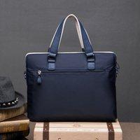 backpacks briefcases - The new han edition men s bags handbag business casual briefcase single shoulder aslant waterproof wear resistant backpack