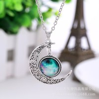 Wholesale Star Moon time necklace series beauty Charm necklace for girls gifts and sister present