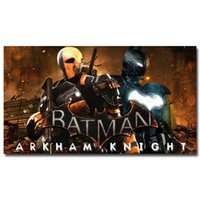 art reproduction posters - Deathtstroke Batman Arkham Origins Knight Hot Game Art Silk Poster Print x43 quot Wall Pictures For Living Room Decor reproduction painting