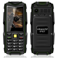army bank - VKworld Stone V3 IP67 Waterproof Shockproof Dustproof Mobile Phone Power Bank Long Standby Outdoor Army mAh