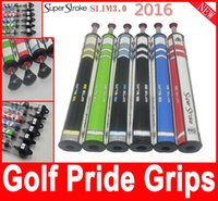 Wholesale SP3 Golf Club Grips Colorful Super Stroke Golf Putter Grips With Countercore Outdoors Club Making Products Club Grips
