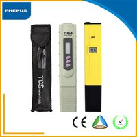 best ph meter - PHEPUS Best Quality pen type Digital PH TDS Tester Meter Pocket Pen Aquarium Pool Water Digital Pen PH Meter Tester