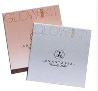 Wholesale 2017 NEW Anastasiaed GLOW KIT GLEAM THAT GLOW Powder Contour kit Makeup Bronzer Highlig hter Make up sets