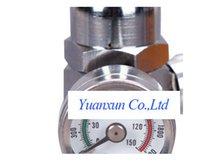 Wholesale dedicated open type aluminum bottle aluminum bottle co2 pressure regulator on I695