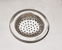 basket strainer waste - Fashion Hot Kitchen Basin Drain Dopant Sink Waste Strainer Basket Leach Plug Stainless Steel