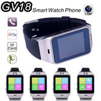 android communications - 2016 Fashion Aplus Smart Watch GV18 Support Micro SIM Card NFC Communication Bluetooth Clock mAh Battery Long Duration