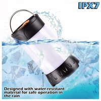 Wholesale Waterproof Camping Lantern LED Lumen Camping Light USB Rechargeable Flashlight Modes Outdoor Portable Lantern