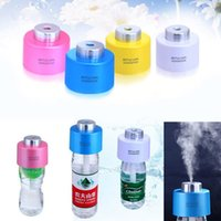Wholesale Hot New New Portable USB Mini Water Bottle Caps Humidifier Air Diffuser Aroma Mist Maker B032
