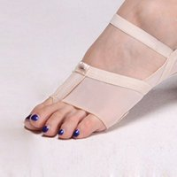 ankle toe socks for women - Professional ballet dancing Toe Pad Modern Lyrical Dance Shoes Sandals Paws Dance Foot Thong for woman