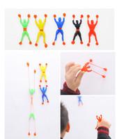 Wholesale Kids Toys Color Random Flexible Men Sticky Wall Climbing Flip Spider Man