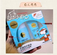 Wholesale Snoopy Suit - Snoopy sunscreen suit men and women students children face the whole body relaxed and waterproof whitening and moisturizing isolation qualit
