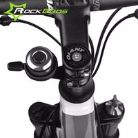 Wholesale ROCKBROS Bike Ordinary Bell Bike Bell Mountain Road Bike Horn Cycling Bicycle Bell Accessories Metal Ring Bicycle Stem Bell