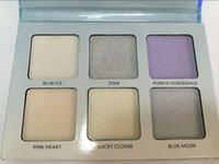 Wholesale 2016 HOT Bronzers Highlight Ana Glow Kit MOON Makeup Face Blush Powder Blusher Palette Cosmetic Blushes DHL