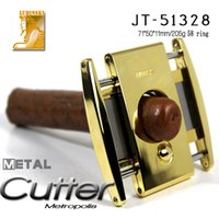ashtray manufacturers - BALDER TK luxury big gold nouveau riche cigar cutter cutter knife stainless steel manufacturers spot