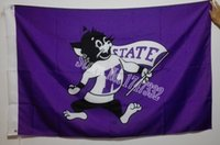 big cm - Kansas State University NCAA Big Twelve Conference Flag hot sell goods X5FT X90CM Banner brass metal holes KS03