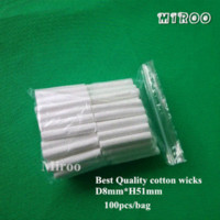 Wholesale High quality Essential Oil Cotton Wicks for Nasal Inhaler oil stabilizer wicking underwear