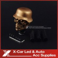 Wholesale Car Accessories Super Personality Car Modification Gear Shift Knob Devil Head Knob Modified Resin Knob Soldier Skull Shift Knob