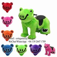 Wholesale 5pcs pack Remote Control Battery Operated Walking Animal Ride For Mall