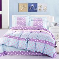 bedlinen sale - Hot Sale Styles Skin Cotton Princess Bedding Set Set Duvet Cover Sheet Pillow Case King Queen Full Girls Bedlinen