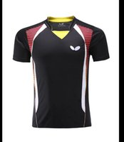 Wholesale Butterfly men s table tennis clothing badminton game T shirt