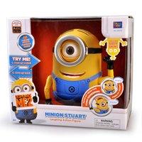 Wholesale Despicable me Minion stuart speaker moving toy with original voice action figure collection model toy
