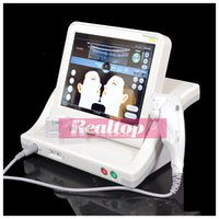 Wholesale SMAS contraction harmonic scalpel hifu deep facelift tightening anti aging wrinkle machine with high intensity focused ultrasound transducer
