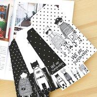 Wholesale pack New Novelty Koko Kingdom Envelope Message Card Letter Stationary Storage Paper Gift H1246