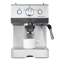 Wholesale full stainless steel semi automatic commercial espresso machine cafe The office Coffee Makers family expenses