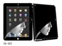 Wholesale Hoody lady Vinyl Sticker Skin Cover Protector for Apple iPad nd for New iPad rd