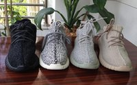 big mens hats - gift hat sock keychain Oxford Tan Boost Sneakers New Color Mens Shoes Kanye Milan West Boost Shoes big size US