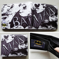 batman cartoon photos - DC Comics Batman Bat Logo wallets Purse Silver cm Leather Man women New W132
