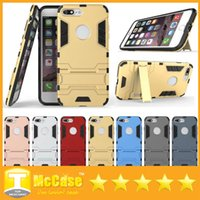 Wholesale iPhone Case Ultra Slim Hybrid Shockproof Armor TPU PC Cases for iPhone S SE S Plus Galaxy Note7 S7 Edge
