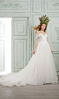 bella quinceanera dresses - BELLA BRIDE Wedding Dresses Long Lace Gown Ivory Bridal Party Dress Garden Wedding Dresses For Quinceanera