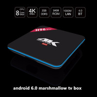 Wholesale 5PCS Android R BOX Pro TV BOX GB GB Amlogic S912 Qcta Core Dual WiFi G G BT4 M LAN DLNA Kodi17 Set Top Box