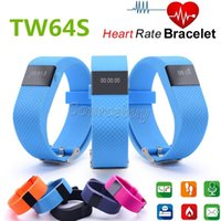 Wholesale Latest Smart Bracelet TW64S Charge HR Activity Wristband Waterproof Bluetooth Wireless Heart Rate monitor OLED Display Smartband Free DHL