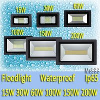 ac hot - HOT LED FloodLight W W W W W W Reflector Led Flood Light Spotlight V V Waterproof Outdoor Wall Lamp Garden Projectors