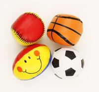 baseball kids activities - Fabric Mini Sports Ball Kids Activities Football Soccer Baseball Basketball Set Sport Themed Party Favor Toy Carnival Prize