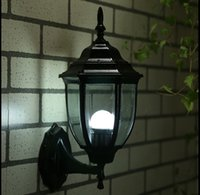 aurora wall lights - Outdoor lamp European wall lamp modern simple outdoor waterproof courtyard lamp retro landscape lighting led lighting aurora
