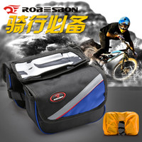 Wholesale Waterproof Roswheel L Cycling Bike Bicycle Front Frame Bag Tube Pannier Double Pouch for in Cellphone H10476